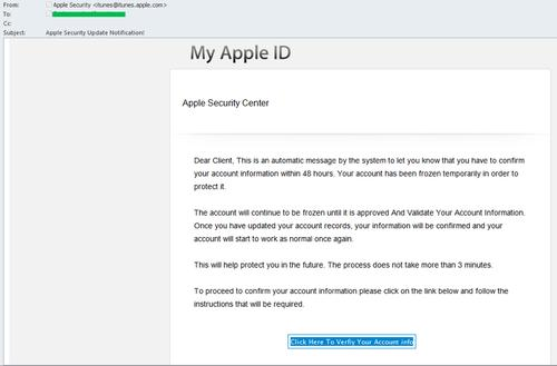 Apple was among the main phishing targets in August, according to Kaspersky Lab.
