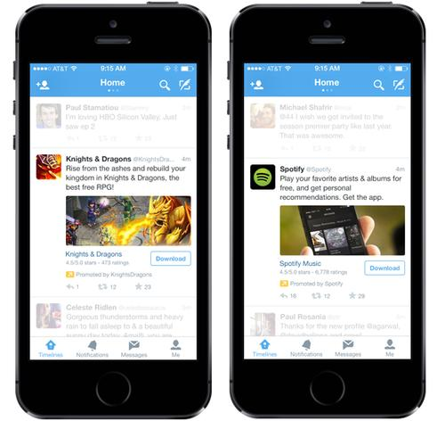 Malicious apps can take advantage of users conditioned to download apps from Twitter.