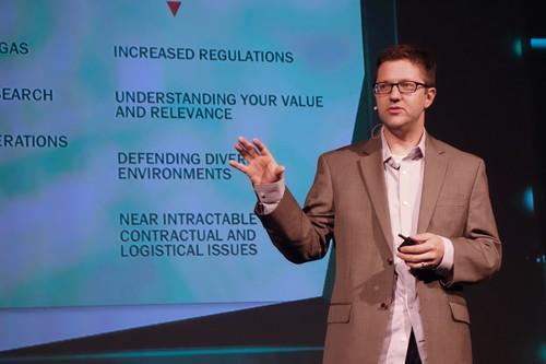 Kurt Baumgartner, a principal security researcher at Kaspersky Lab, addressed a Kaspersky conference on Tuesday in San Francisco