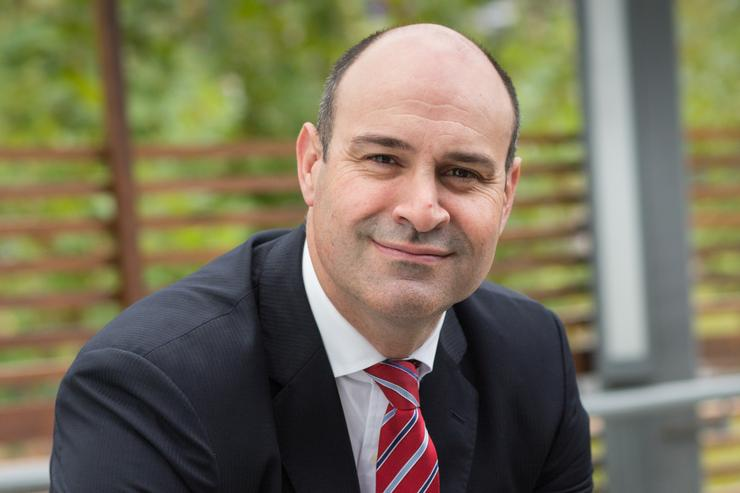 John Paitaridis, managing director of Optus Business
