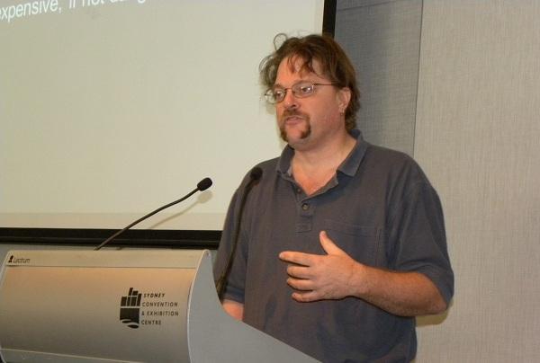 Tenable Network Security CSO, Marcus Ranum.