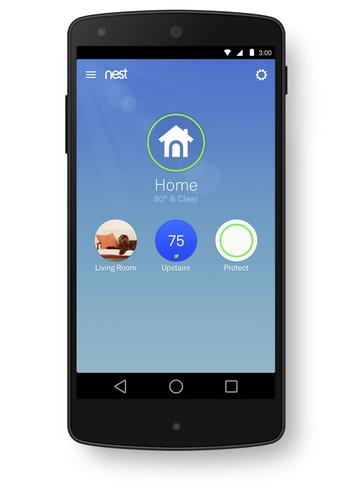 A new app will unify control of all three of Nest Labs' products.