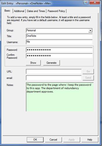 Password Safe requires you do leave your browser and launch a website from the appropriate entry.