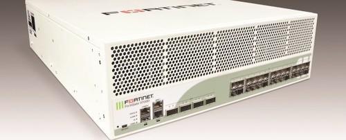 The new FortiGate 3700D firewall appliance.