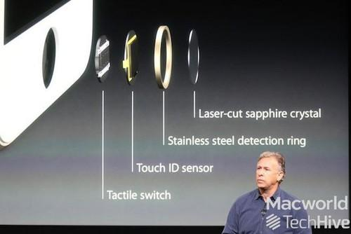 Apple's new iPhone 5S model includes a fingerprint scanner that provides users with new security features tied to their biometric identity, in a system Apple is calling Touch ID.