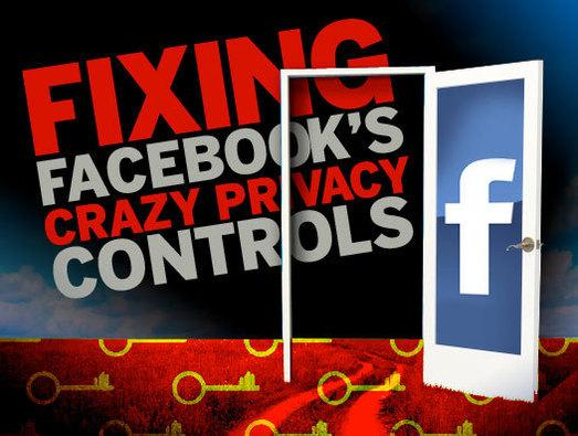 In Pictures: Fixing Facebook's crazy privacy controls