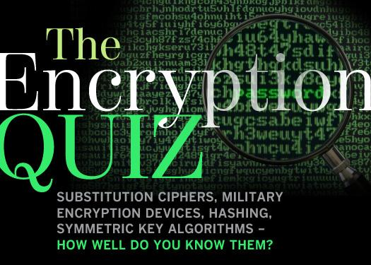 The encryption quiz