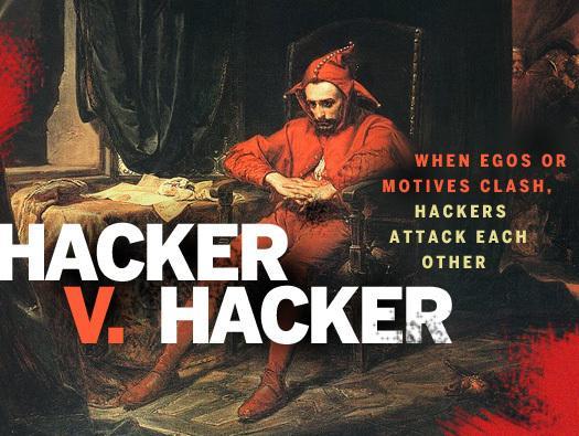 In Pictures: Hacker v. hacker