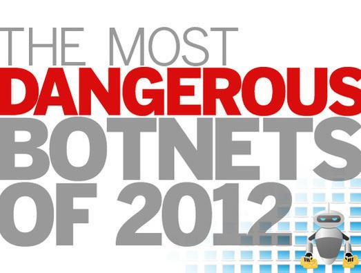In Pictures: Baddest Botnets of 2012