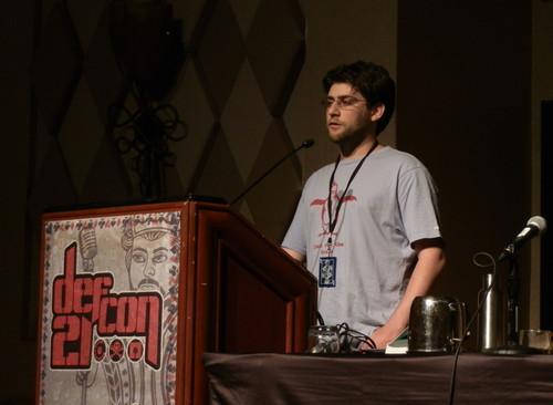Security researcher Craig Young presents Google 'weblogin' risks at Defcon 21 security conference.
