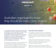Your Email is your weakness: Australian Orgs know they should be more cyber resilient
